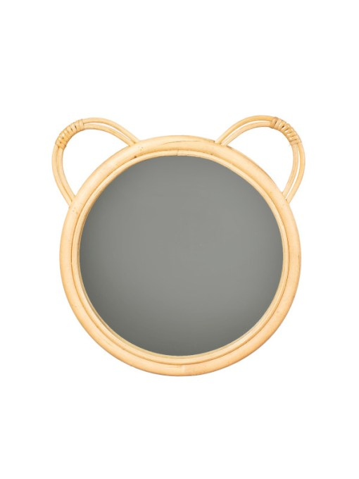 Sass & Belle - Rattan Bear Mirror