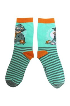 House of Disaster - Snufkin Moomin Socks