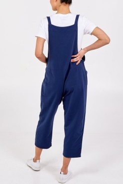 Thunder Egg - Navy Jersey Dungarees