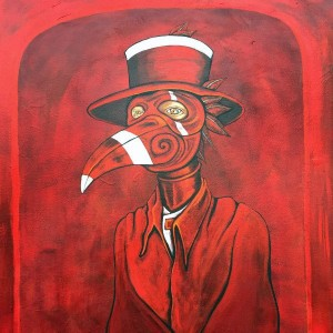 """Doctor in Red Crow Mask"" :Unavailable"