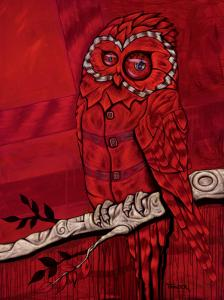 """Red Owl""Available for purchase"