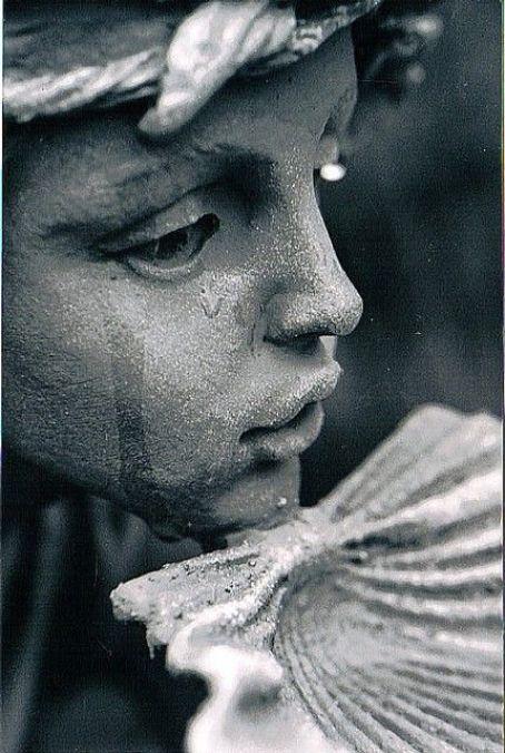 tears on stone