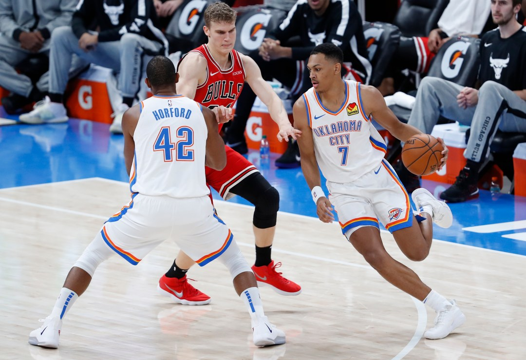 OKC Thunder player grades for ugly loss to Chicago Bulls - Page 2