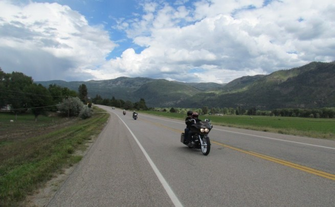 Riding the Million Dollar Highway - Four Corners Motorcycle Rally