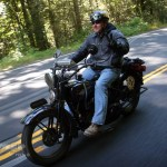 #24 Kelly Modlin on his '29 H-D
