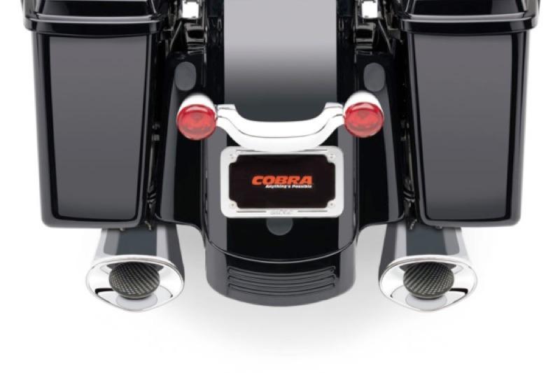 Cobra PowrFlo and Tri-Flo Slip-on Mufflers