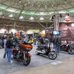 Harley-Davidson booth at the Minneapolis IMS