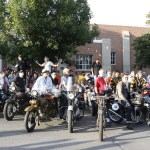 2012 Motorcycle Cannonball Run group shot