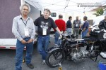 2012 Motorcycle Cannonball Run - Working in the pits