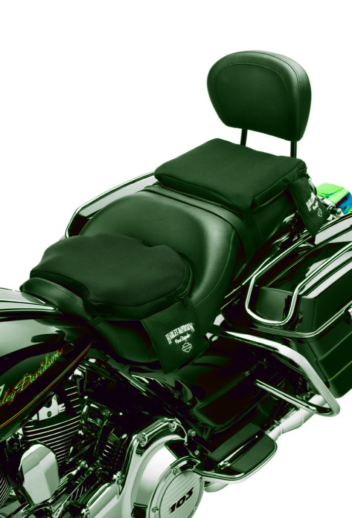 Harley-Davidson Road Zeppelin Seat Pads