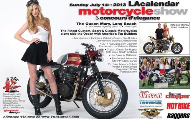 2013 LA Calendar Motorcycle Show