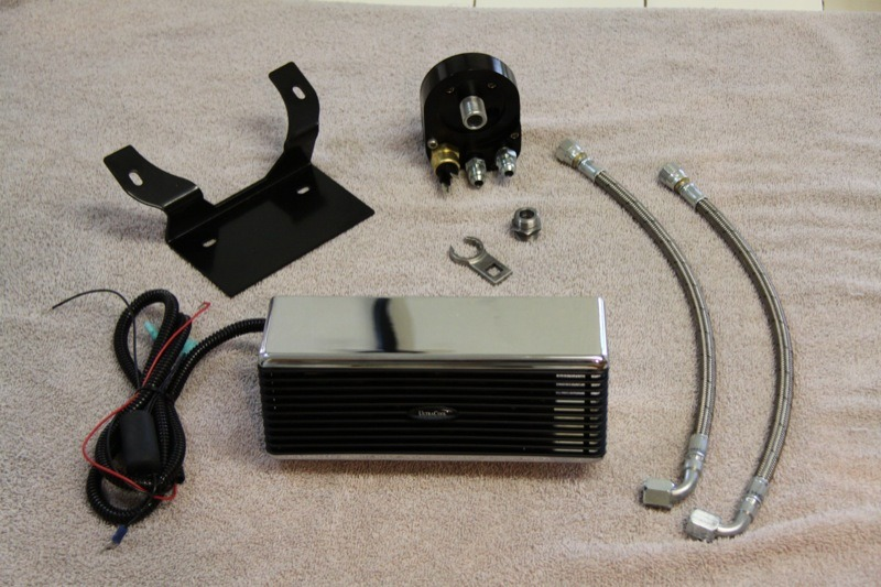 The Reefer Oil Cooler: A tabletop of parts that will ensure a long life for your engine