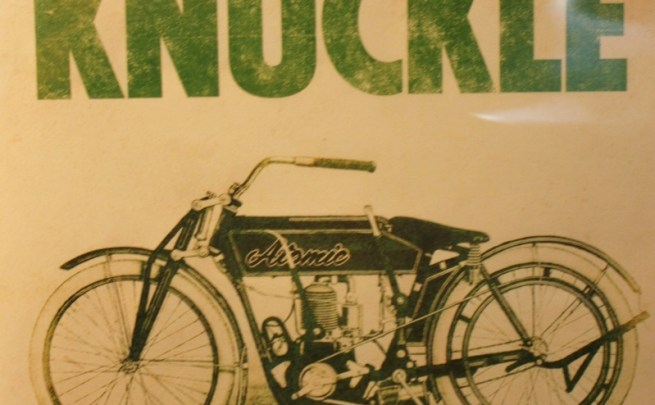 White Knuckle: The Story of the Motorcycle Cannonball