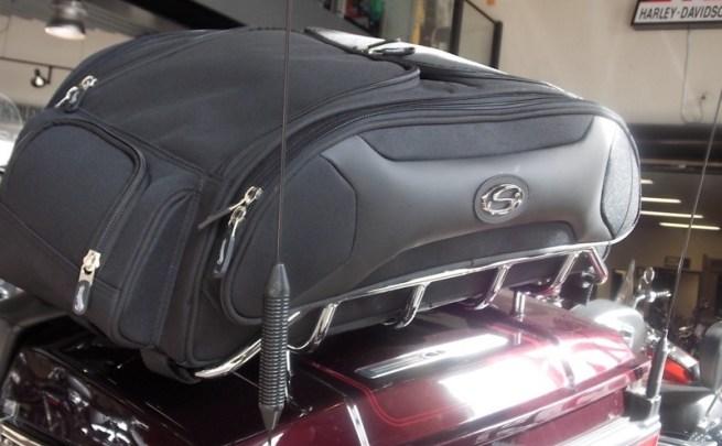 Saddlemen FTB Sport Trunk & Rack Bag