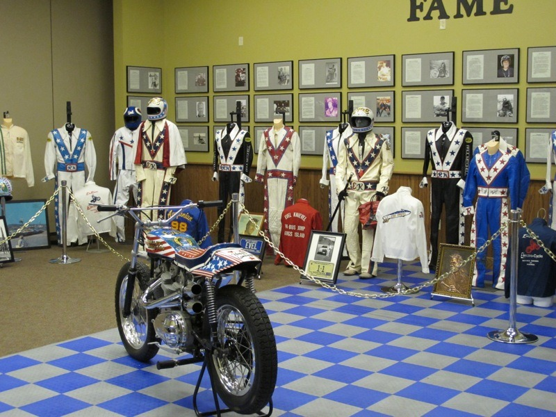 A portion of Lathan McKay's collection on display at the 2013 Vintage Rally