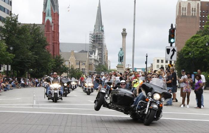 Harley-Davidson 110th Anniversary Parade