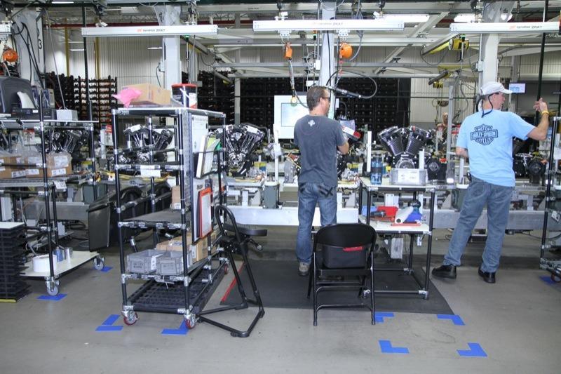 Harley-Davidson Powertrain Operations Tour