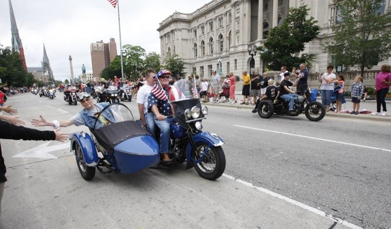 Harley-Davidson 110th Anniversary Parade-1