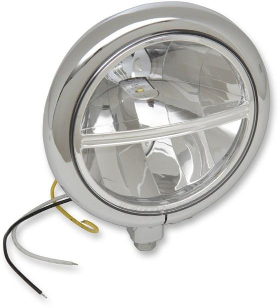 "Drag Specialties L.E.D. 5-3/4"" Headlight Assembly"
