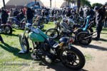 The fairgrounds were packed with bikes in the SoCal sun