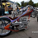 "Paul Ponkow's ""Black Rainbow""chopper"