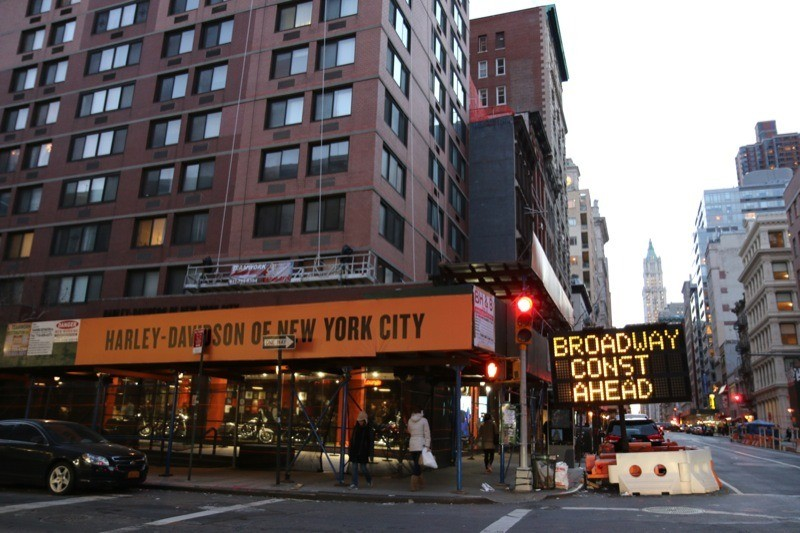 Harley-Davidson of NYC's flagship store in trendy Tribeca