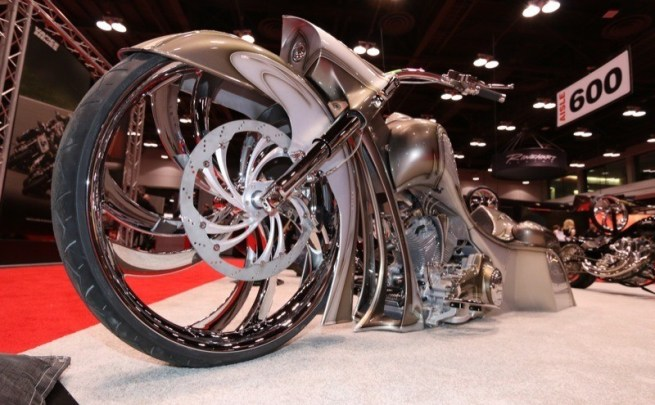 "Metalsport Wheels' new 32"" designs were the talk of the 2014 V-Twin Expo"
