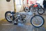 "K model drag bike owned by Dan Rognsvoog, Franksville, WI. The Arkansas Traveler was originally campaigned in the 50's by ""Flying"" Sammy Satterly."