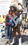 Naked Cowboy at the 73rd annual Daytona Bike Week