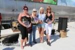 Winners of the women's tattoo competition at Daytona Lagoon