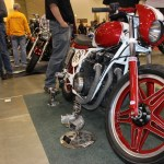 The 1979 Honda CB750 was donated to the Mitchell club by a local junkyard