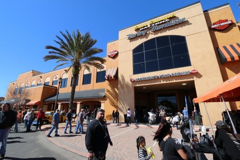 Bruce Rossmeyer's Daytona Harley-Davidson