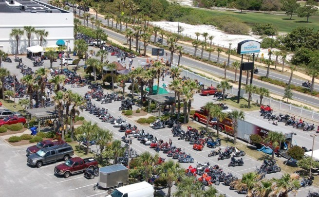 7th annual Thunder Beach Spring Rally