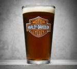 Harley-Davidson Bar & Shield Logo Pint Glass