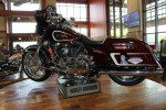 The custom Elvis Presley-themed Street Glide is front and center at STHD