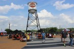 The picturesque Bar & Shield water tower serves as the STHD beacon high above Hwy 55