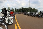 STHD closed the frontage road for motorcycle-only access