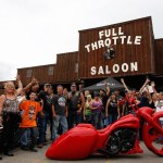 American Bagger show at the Full Throttle - bike by Brian Jenkins, Hatred Customs