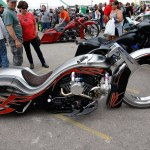 Ballistic Cycles' hubless creation took the Baddest Bagger