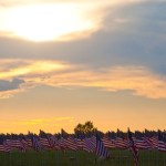 Sunset at the 74th annual Sturgis Rally