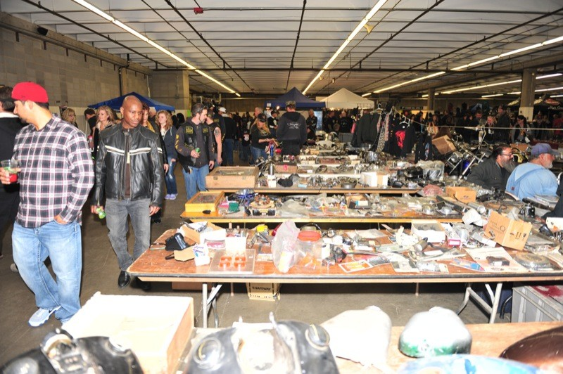 There was a bevy of goods on display at the two-day show featuring all things motorcycle