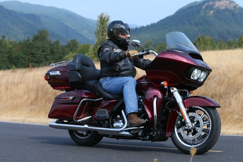 "A high mileage rider's dream, the new 2016 Road Glide Ultra rates high on the list of ""The most enjoyable Harleys on the planet"""