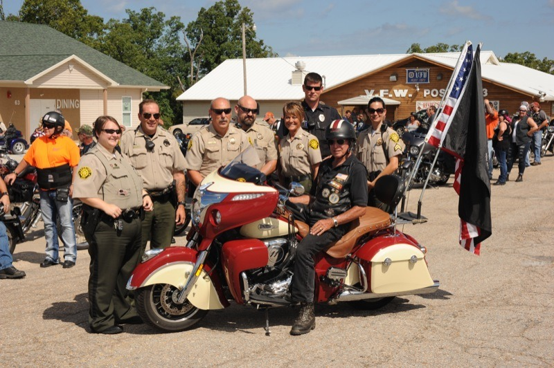 Camdon County Sheriff Escort with Tom Hohnecker