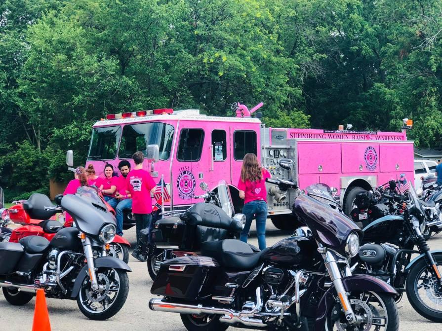 Pink Heels for Pink Heals Thunder Press Cancer
