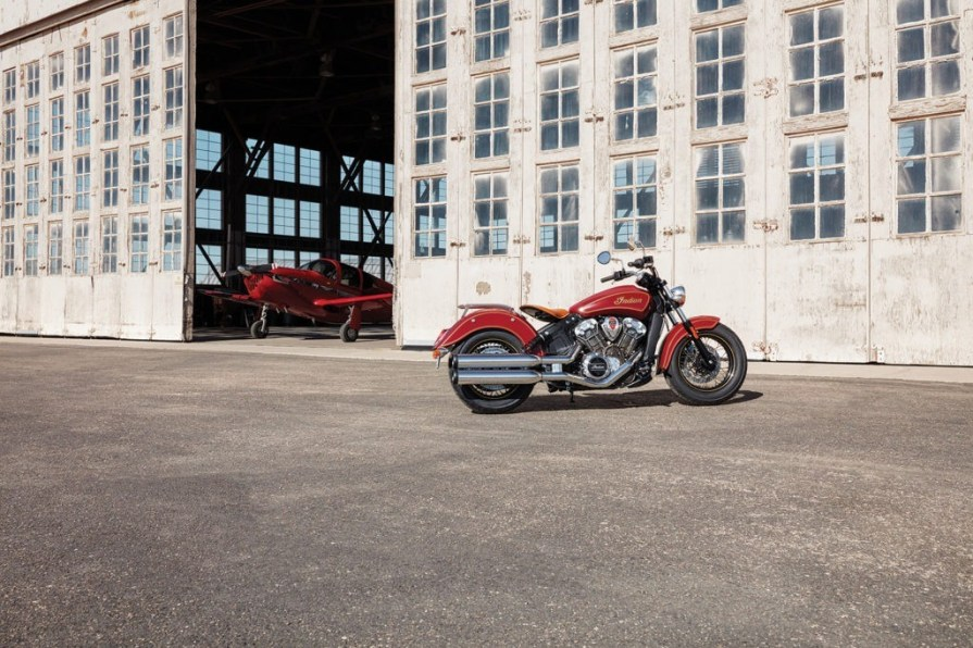 2020 100th anniversary indian scout thunder press