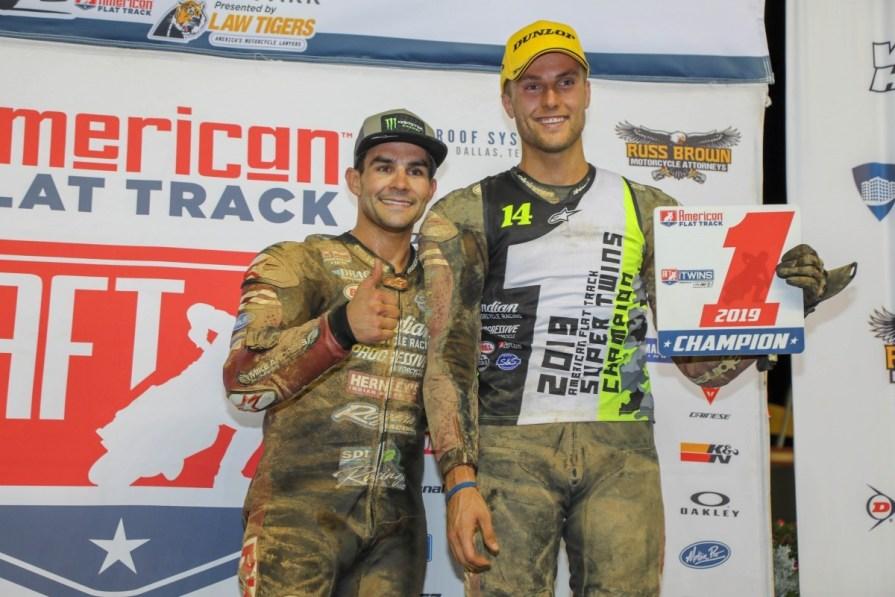 Briar Bauman, American Flat track, Thunder press
