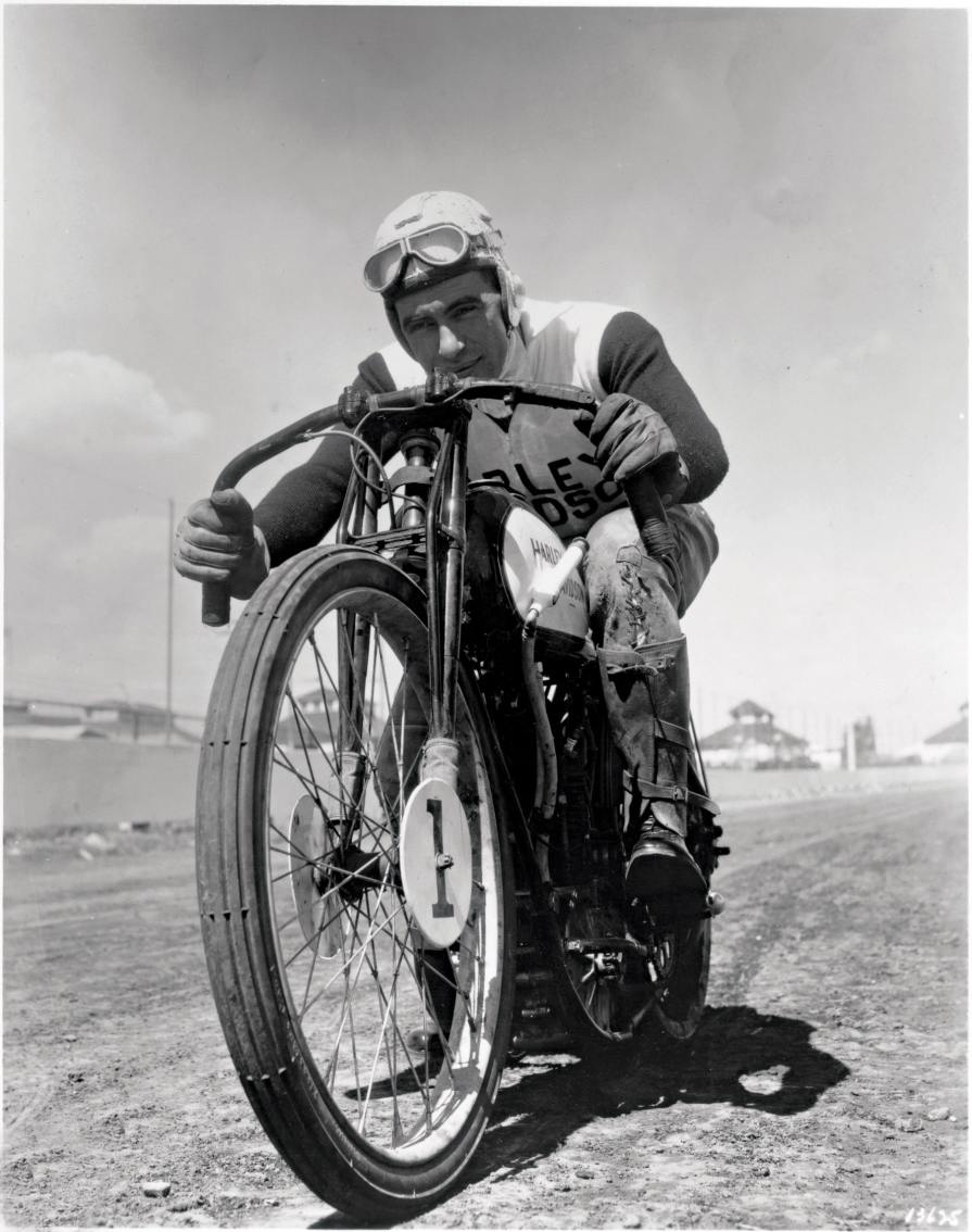 Joe Petrali, or Smokin' Joe, was arguably the country's finest racer from the mid-1920s to the mid-30s and one of the last great Class A racing stars who competed in board track racing.