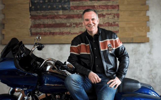Matt Levatich President and CEO of Harley-Davidson