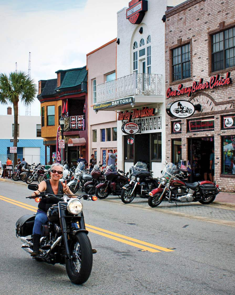 Daytona Bike Week helps set the stage for the riding season and provides a good shot of adrenaline, fueling that next bike purchase.