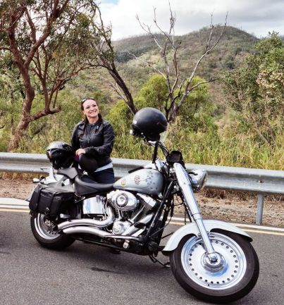 Susie Thomas Women Who Ride Harley-Davidsons